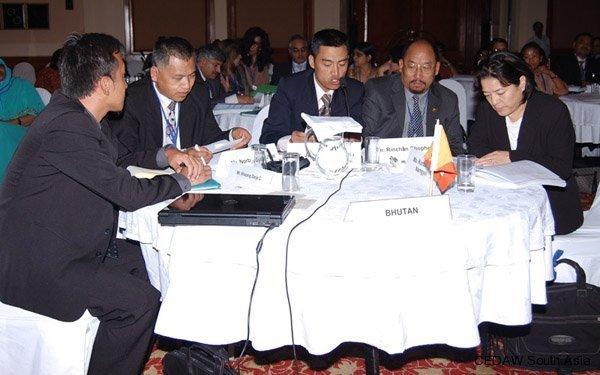 Delgation from Bhutan