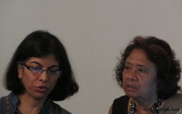 Resource Persons: Madhu Mehra and Shanthi Dairiam