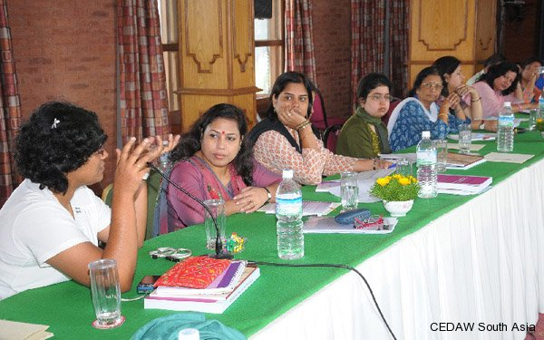 Participants in discussion